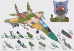 MIG-29S and its weapons... by DingoPatagonico
