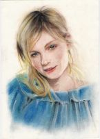 Kirsten dunst by Trunnec