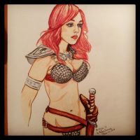 Red Sonja 2 by Sythbane