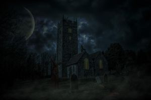 Graveyard shift.. by AledJonesStockNArt
