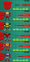 Autobots Updated[10-18-12][Pixel Heroes] by THX1138666