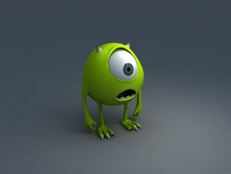 Mike Wasowski More Progress by RayTrace77