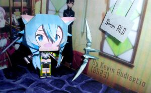 [[ Preview ]] Sinon - ALfheim Online Cubeecraft by Kevin-BS23