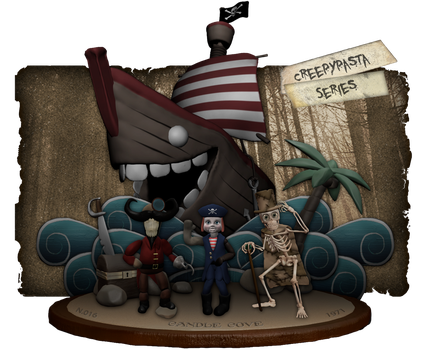 Creepypasta Series 16: Candle Cove by dimelotu