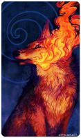 Tarot : ACE OF WANDS by leptailurus-serval