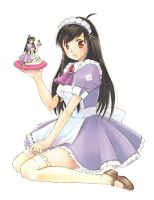 Mirai Purple Maid by dannychoo
