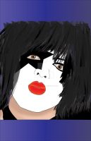 Paul Stanley by vincent-is-mine