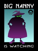 Big Nanny is Watching by Conservatoons