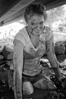 Mud Explorations XXX BW by DimensionalImages