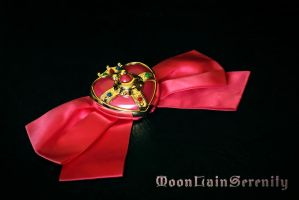 Sailor Moon S Bow Set by MoonLainSerenity