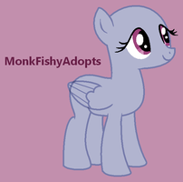 Listening And Looking - Pony Base by MonkFishyAdopts