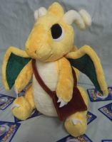 Custom Messenger Dragonite plush by angelberries