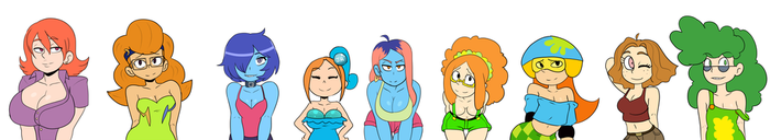 Channel tan Boobies by AngeliccMadness