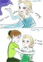 Frozen fever by Mari945