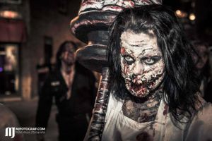 6th Zombie Walk of Quebec by Tyliss