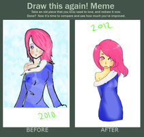 Draw this again. 2010-2012 by Pachipie