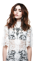 Lily Collins PNG Render by Varya-Sova