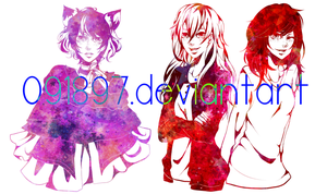 experimental half-body commission batch 8 by 091897