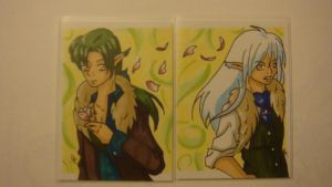 ACEO Commission - for Serenity by OhhSugar
