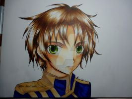 Teito Klein from 07 Ghost by naftie