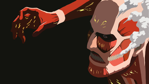 Colossal Titan (Attack On Titan) Minimalist by ArticArtwork