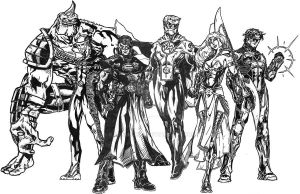 The League of Avengers by kameleon84