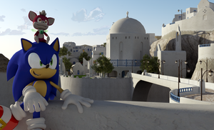 Sonic and Chip best friends by itsHelias94