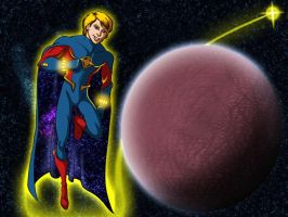 Quasar In Space by IMForeman