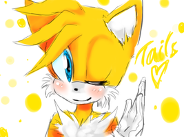 Tails doodle by TheLittleChuu