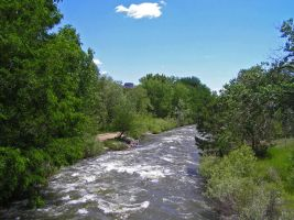 Summer On Clear Creek by mttomimages