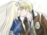 kissing me by Belarus-APH