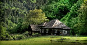 old wood house by iacobvasile