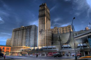 Book Tower-HDR by Cruzweb