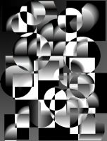 BLACK AND WHITE VECTOR 2 by CorazondeDios