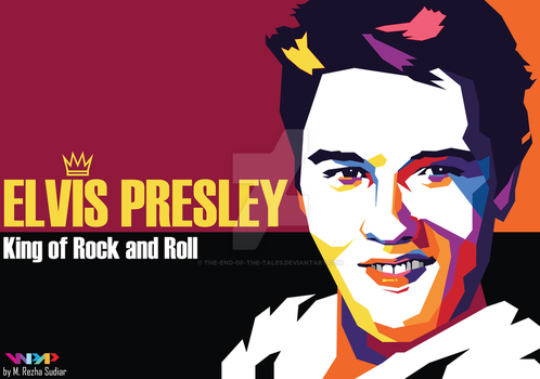 Elvis Presley in WPAP by The-End-of-the-Tales