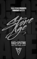 stoneage party at velvet by sounddecor