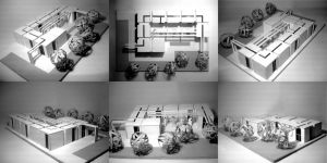 Exhibition room model by vssh