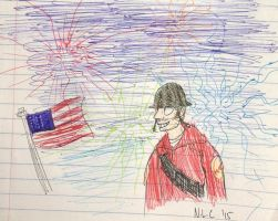 4th of July by The-Equinox-Arises