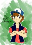 Dipper is adorable by Erz92
