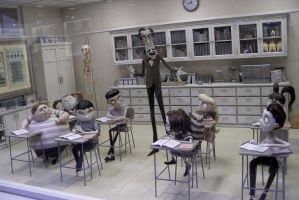 More Frankenweenie Models- Victor's Class by Dinalfos5