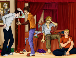 Marauders Coloures by LittleMoony