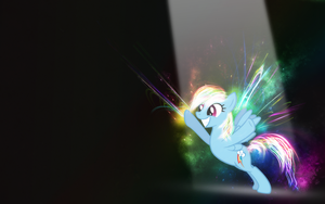 Spotlight Finish - Rainbow Dash by Vividkinz