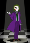 Heath Ledger's Joker by xSweetSlayerx