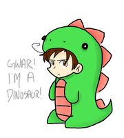 Dinosaur Romano Will Eat You! by LiliumLief