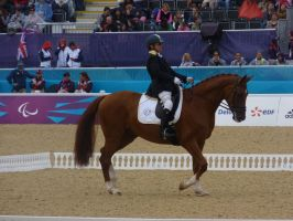 Paralympic Dressage - Italy by Belle-Vaux