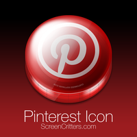 Pinterest Icon by ScreenCritters