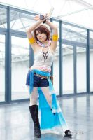 Yuna [ Gunner Ver. ] from FFX-2 - 10 by YumiCosplay