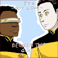 THE AMBIGUOUSLY GAY DUO by HedgehogBeeblebrox