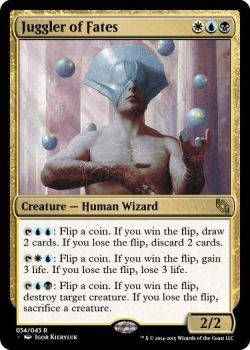 Juggler of Fates - WUB- Human Wizard - 2/2 by ToxicTurd