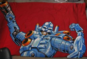 Turrican Bead Sprite by Buck-Chow-Simmons